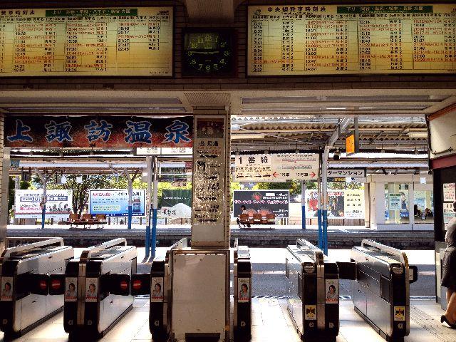 上諏訪駅6