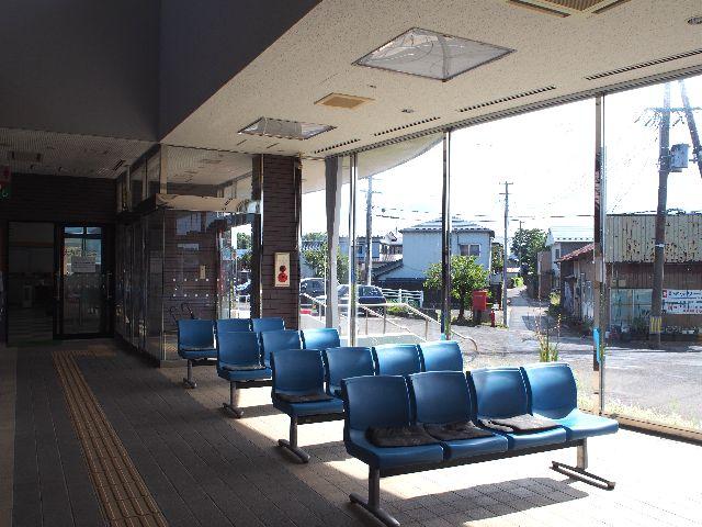 羽後岩谷駅10