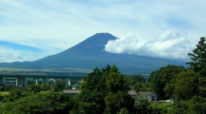 富士岡駅という富士山の隠れた絶景スポットに出会う