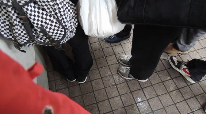 木ノ下駅散策②うっかり学生の帰宅ラッシュにあたってしまうの巻