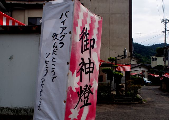 枋ノ木神社金勢様祭