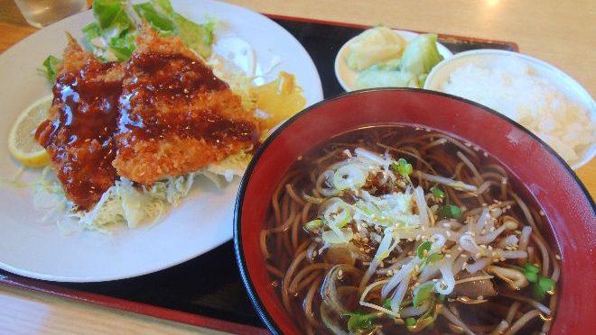 安中駅にて「そばMARU」でめっちゃ安くて美味しいランチに出会う