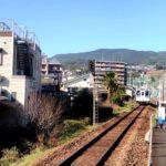 松浦鉄道の泉福寺駅で長崎の坂の多さをしみじみ感じる