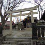 木ノ下駅散策~寒さに震えながら箕輪南宮神社を参拝