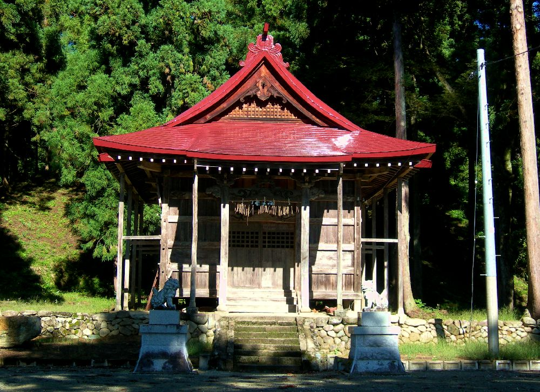 俣倉舎という神社3