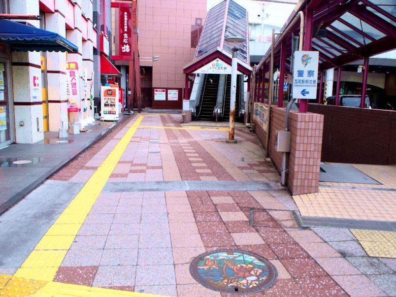 瓦町駅_マンホール