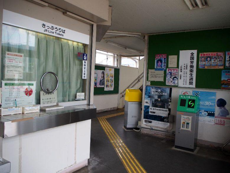 柏原駅の改札