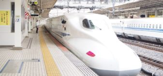 新幹線で米原駅(滋賀県)へ【JR西日本とJR東海の境界駅】