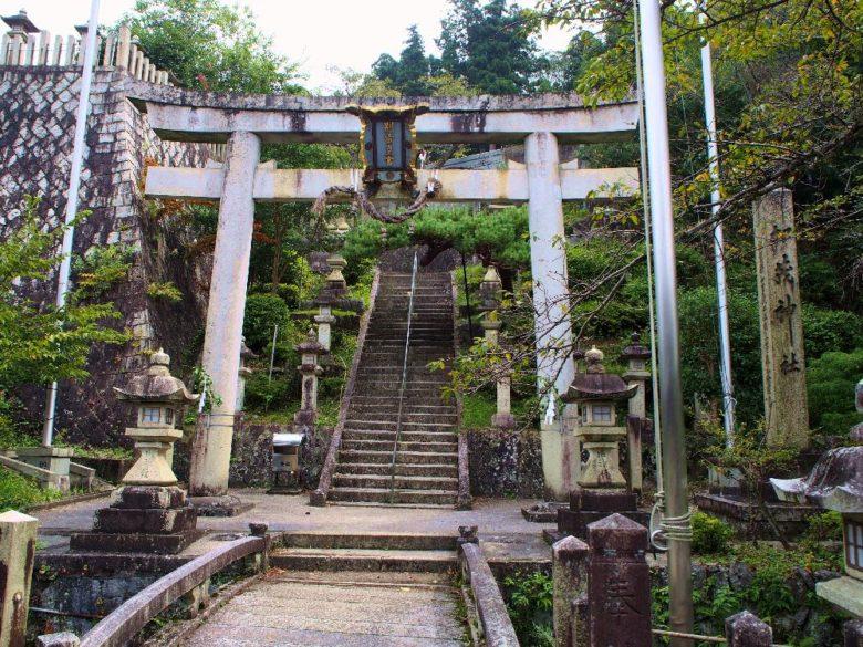 居醒の清水の加茂神社