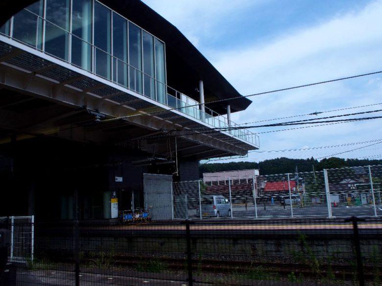 片岡駅_新駅舎の跨線橋