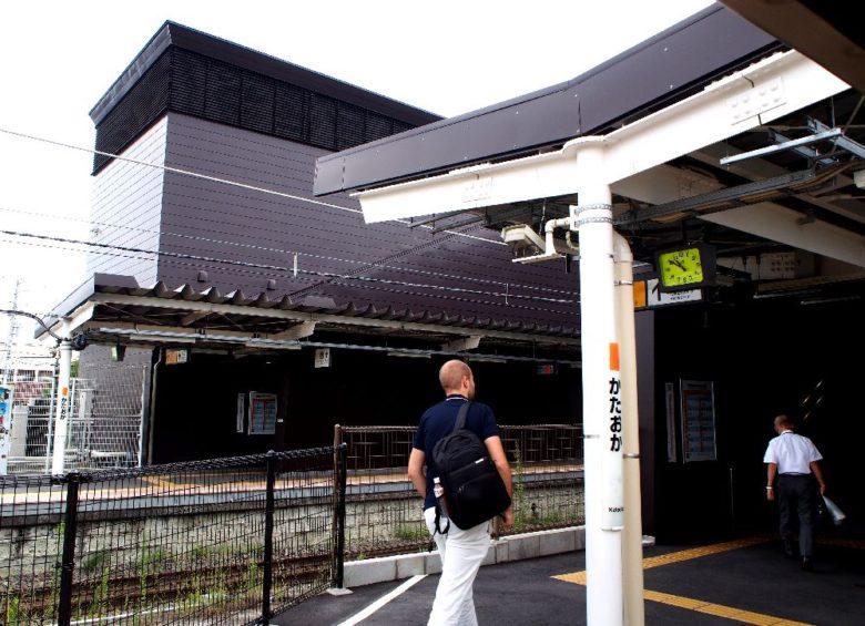 片岡駅_新駅舎
