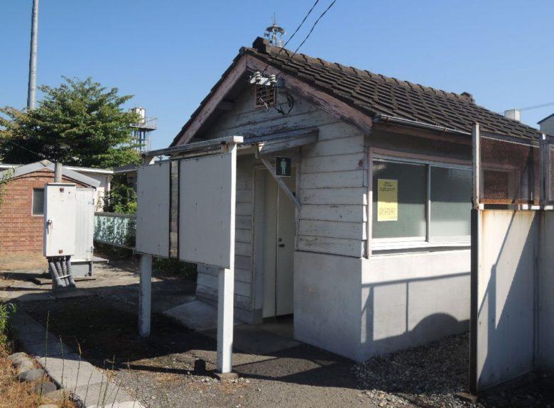 片岡駅_旧駅舎‗トイレ