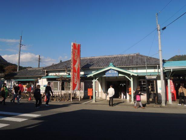 三峰口駅の懐かしい写真。埼玉県最西端にある秩父鉄道の終着駅・関東の駅百選