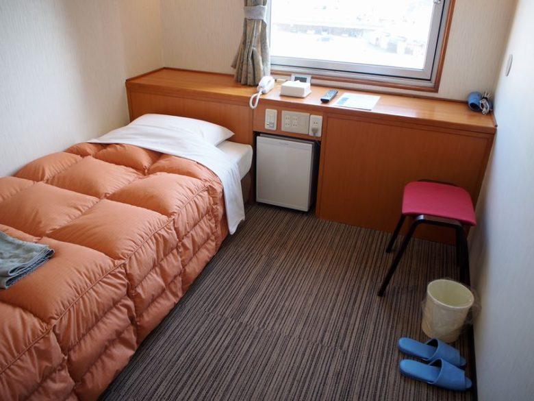 ホテルセントラルインの客室