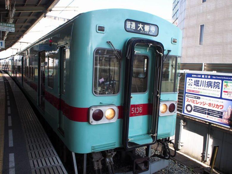 西鉄久留米駅の電車