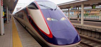 山形新幹線で東北の駅百選の「山形駅」を訪ねる【駅前風景とマンホールも】