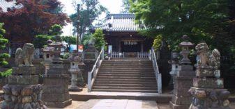 深谷駅から徒歩1分、瀧宮神社を参拝。心願成就・縁結び・起業成就のパワースポット