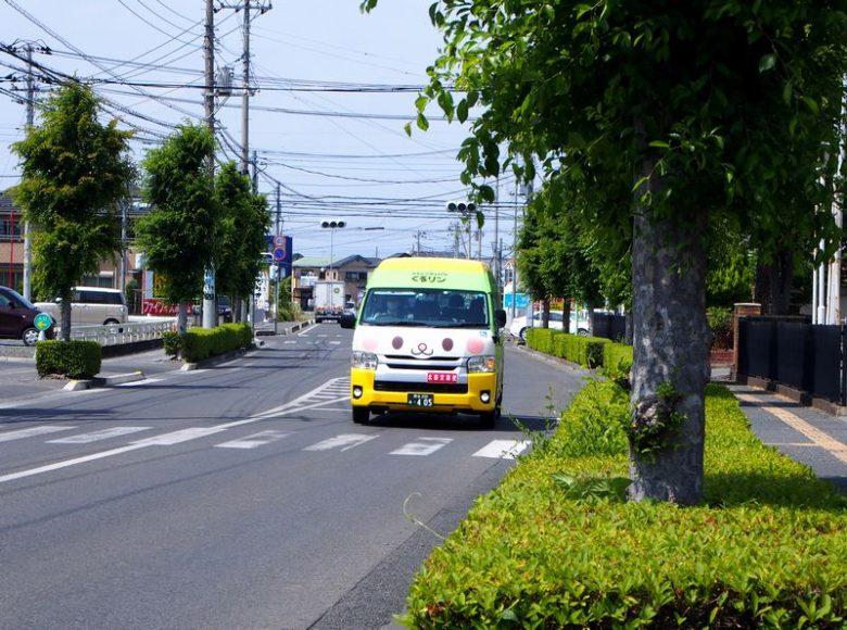 深谷市のバス