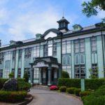 渋沢栄一ゆかりの地・埼玉県立深谷商業高等学校記念館。深谷駅から歩いて行く