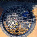 【埼玉県深谷市】深谷駅からの散策で見つけたご当地マンホール5枚