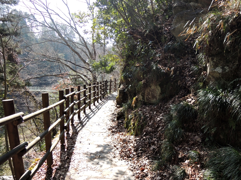 天龍峡遊歩道